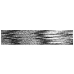 Rectangle Abstract Background Black And White In Rectangle Shape Flano Scarf (Small)