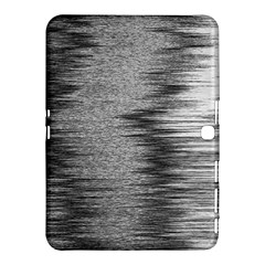 Rectangle Abstract Background Black And White In Rectangle Shape Samsung Galaxy Tab 4 (10.1 ) Hardshell Case