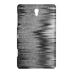 Rectangle Abstract Background Black And White In Rectangle Shape Samsung Galaxy Tab S (8 4 ) Hardshell Case