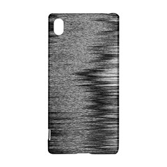 Rectangle Abstract Background Black And White In Rectangle Shape Sony Xperia Z3+