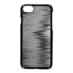 Rectangle Abstract Background Black And White In Rectangle Shape Apple iPhone 7 Seamless Case (Black)