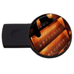 Magic Steps Stair With Light In The Dark USB Flash Drive Round (2 GB)