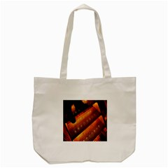 Magic Steps Stair With Light In The Dark Tote Bag (cream)