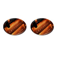 Magic Steps Stair With Light In The Dark Cufflinks (Oval)