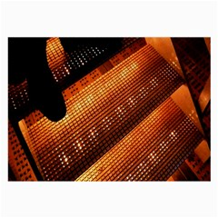 Magic Steps Stair With Light In The Dark Large Glasses Cloth (2-Side)