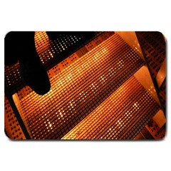 Magic Steps Stair With Light In The Dark Large Doormat