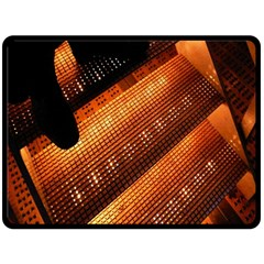 Magic Steps Stair With Light In The Dark Fleece Blanket (Large)