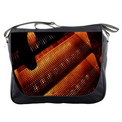 Magic Steps Stair With Light In The Dark Messenger Bags