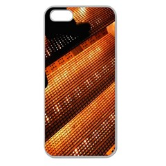 Magic Steps Stair With Light In The Dark Apple Seamless Iphone 5 Case (clear)