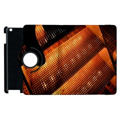 Magic Steps Stair With Light In The Dark Apple Ipad 3/4 Flip 360 Case