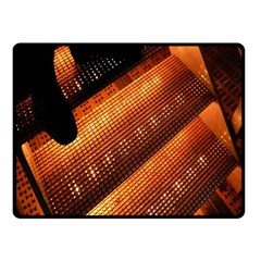 Magic Steps Stair With Light In The Dark Double Sided Fleece Blanket (small)