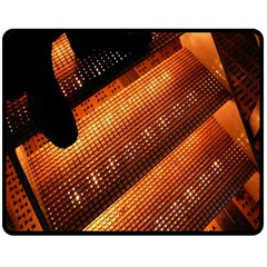Magic Steps Stair With Light In The Dark Double Sided Fleece Blanket (medium)