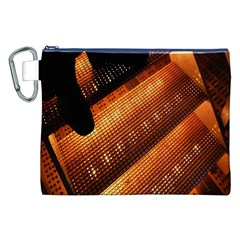 Magic Steps Stair With Light In The Dark Canvas Cosmetic Bag (xxl)