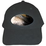 Tree Art Artistic Abstract Background Black Cap Front