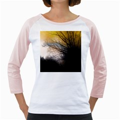 Tree Art Artistic Abstract Background Girly Raglans