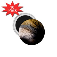 Tree Art Artistic Abstract Background 1.75  Magnets (10 pack)