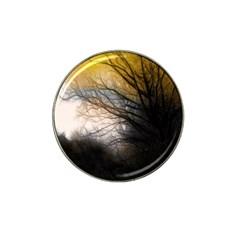 Tree Art Artistic Abstract Background Hat Clip Ball Marker (4 Pack)