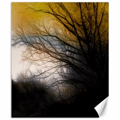 Tree Art Artistic Abstract Background Canvas 8  X 10
