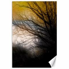 Tree Art Artistic Abstract Background Canvas 24  x 36