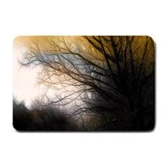 Tree Art Artistic Abstract Background Small Doormat