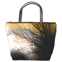 Tree Art Artistic Abstract Background Bucket Bags