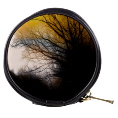 Tree Art Artistic Abstract Background Mini Makeup Bags