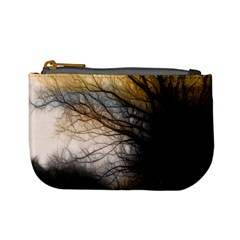 Tree Art Artistic Abstract Background Mini Coin Purses