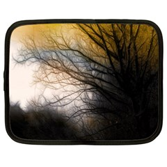 Tree Art Artistic Abstract Background Netbook Case (XXL)
