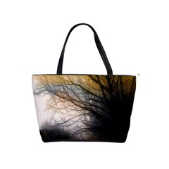 Tree Art Artistic Abstract Background Shoulder Handbags