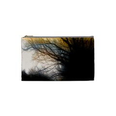Tree Art Artistic Abstract Background Cosmetic Bag (Small)
