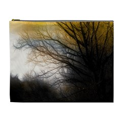 Tree Art Artistic Abstract Background Cosmetic Bag (XL)