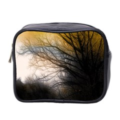 Tree Art Artistic Abstract Background Mini Toiletries Bag 2-Side