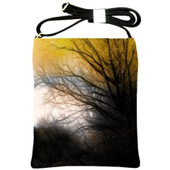Tree Art Artistic Abstract Background Shoulder Sling Bags