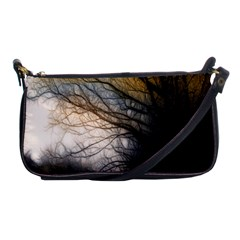 Tree Art Artistic Abstract Background Shoulder Clutch Bags
