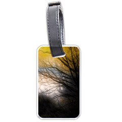 Tree Art Artistic Abstract Background Luggage Tags (One Side)