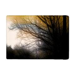 Tree Art Artistic Abstract Background Apple Ipad Mini Flip Case