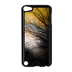 Tree Art Artistic Abstract Background Apple iPod Touch 5 Case (Black)
