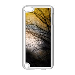 Tree Art Artistic Abstract Background Apple iPod Touch 5 Case (White)