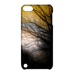 Tree Art Artistic Abstract Background Apple Ipod Touch 5 Hardshell Case With Stand