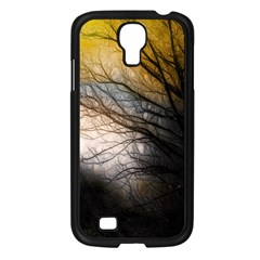 Tree Art Artistic Abstract Background Samsung Galaxy S4 I9500/ I9505 Case (black)