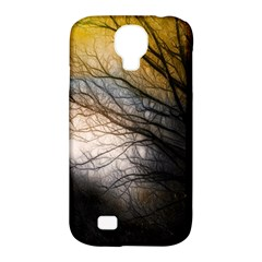 Tree Art Artistic Abstract Background Samsung Galaxy S4 Classic Hardshell Case (pc+silicone)