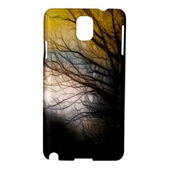 Tree Art Artistic Abstract Background Samsung Galaxy Note 3 N9005 Hardshell Case
