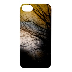 Tree Art Artistic Abstract Background Apple iPhone 5S/ SE Hardshell Case
