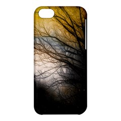 Tree Art Artistic Abstract Background Apple iPhone 5C Hardshell Case