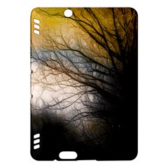 Tree Art Artistic Abstract Background Kindle Fire Hdx Hardshell Case
