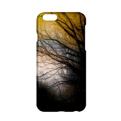 Tree Art Artistic Abstract Background Apple iPhone 6/6S Hardshell Case
