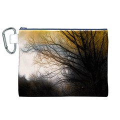 Tree Art Artistic Abstract Background Canvas Cosmetic Bag (XL)