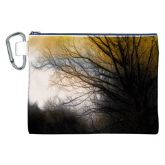 Tree Art Artistic Abstract Background Canvas Cosmetic Bag (XXL)
