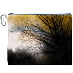 Tree Art Artistic Abstract Background Canvas Cosmetic Bag (xxxl)