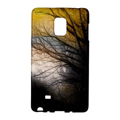 Tree Art Artistic Abstract Background Galaxy Note Edge